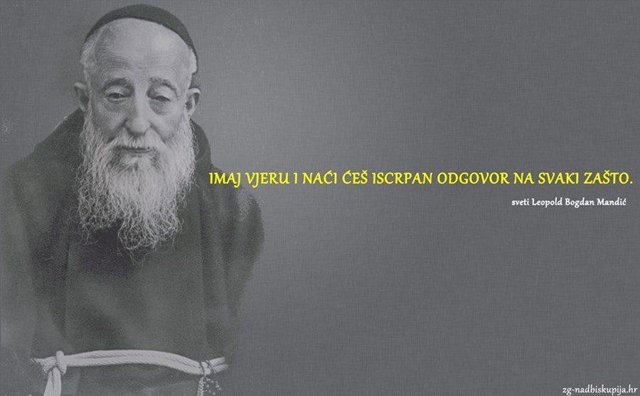 Sveti Leopold Bogdan Mandić