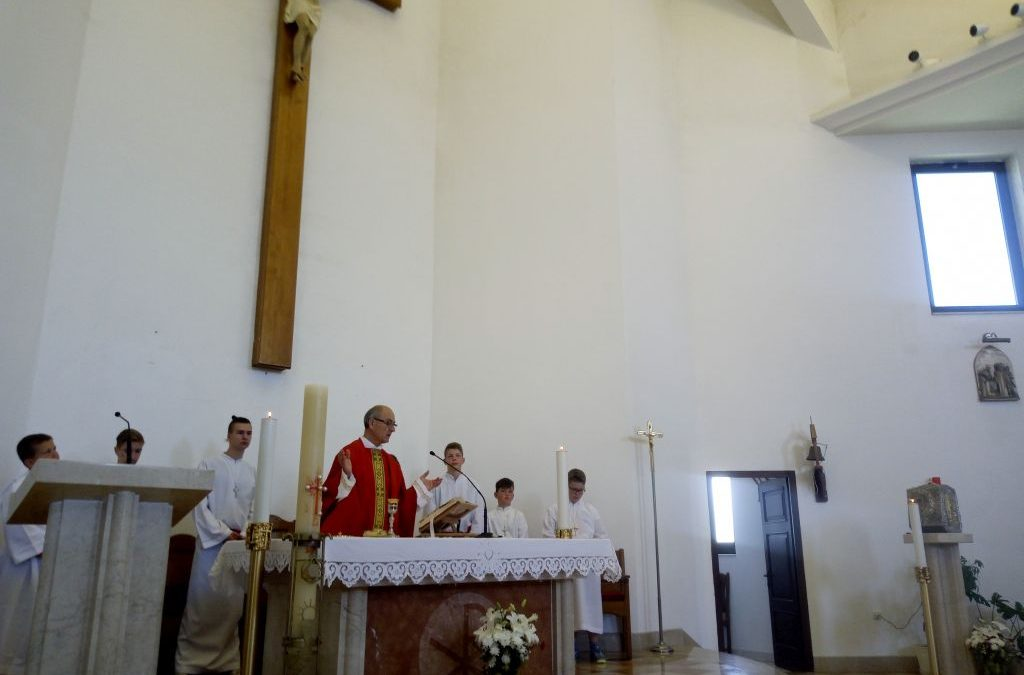 BLAGDAN DUHOVA (PEDESETNICA) – Župna misa