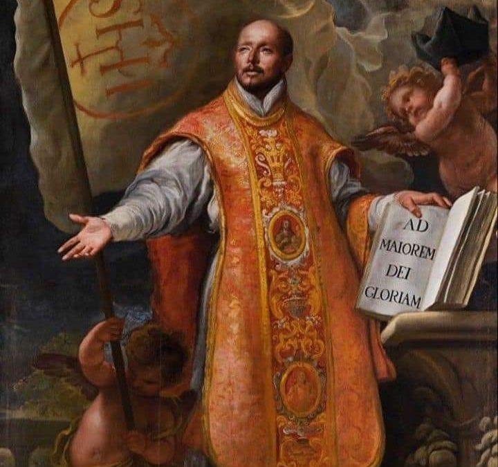 Sveti Ignacije Lojolski   Župa Presvetoga Srca Isusova - Vinišće