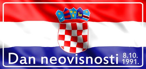 Čestitamo vam Dan hrvatske neovisnosti