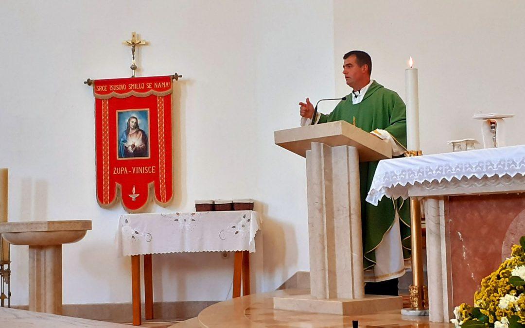 16. NEDJELJA KROZ GODINU – župna misa