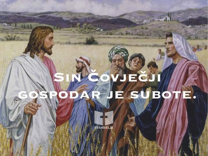 Evanđelje dana 16.7.2021.